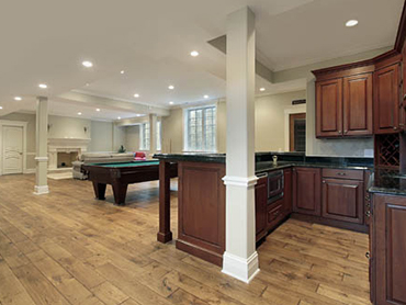 basement remodeling made by remodeling contractors in chicago