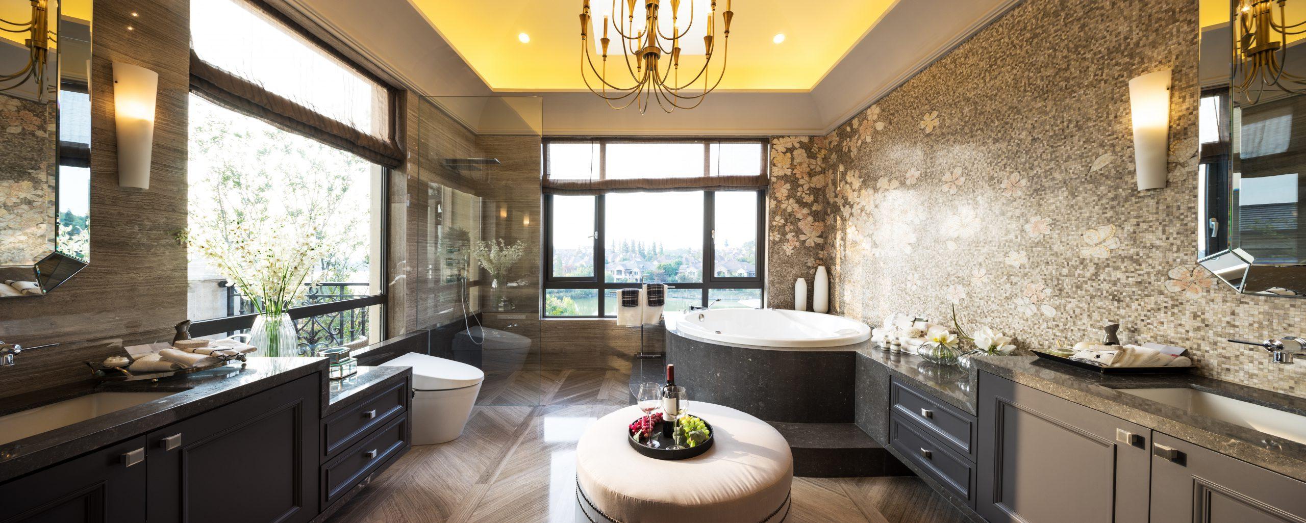 elegant bathroom remodel in chicago